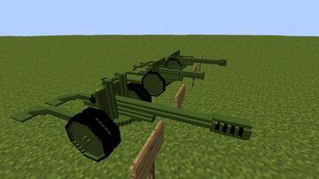 Artilery Decor (Armourers Workshop)1.12.2 Minecraft Mod