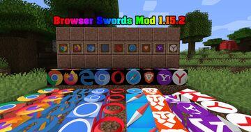 Browser Swords 1.15.2 Minecraft Mod