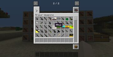 Argus' Weapons Mod for 1.14 Minecraft Mod