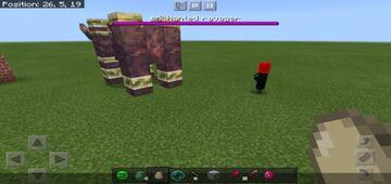 Red emerald ore Minecraft Mod
