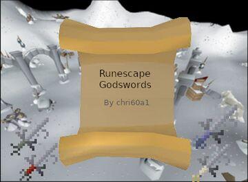 [1.15.2] [Forge] RuneScape Godswords by chri60a1 Minecraft Mod