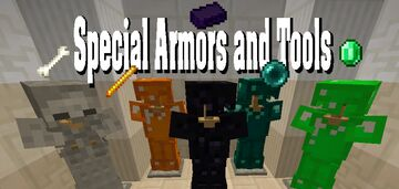 Special Armor & Tool Sets (and Horse Armors!) Minecraft Mod