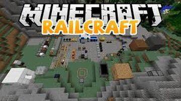 RAILCRAFT MOD Minecraft Mod