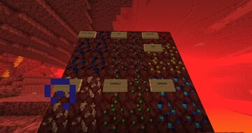 Nether Ores - all overworld ores in the nether! Minecraft Mod