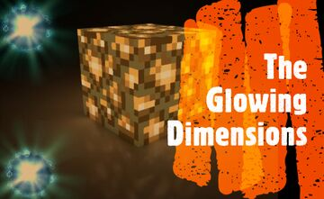 The Glowing Dimensions Minecraft Mod