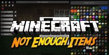 Not Enough Items Minecraft Mod