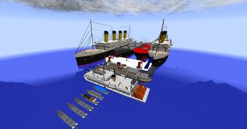 MCHelicopter 1.0.4 TRANSPORTTYCOON Ship Pack Minecraft Mod