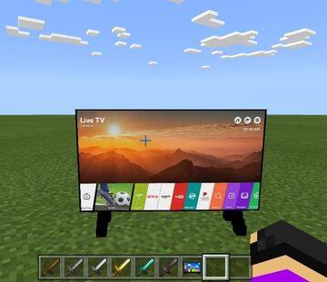 TV Addon😂 Minecraft Mod