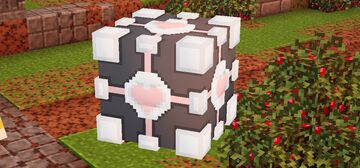 Companion Cube Pet Minecraft Mod