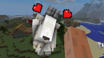 Pet goats! Minecraft Mod