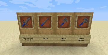 Battle Weapons Pack Minecraft Mod