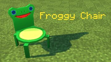 Froggy Chair [Fabric Loader] Minecraft Mod