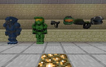 Armourers Workshop: Halo Models Minecraft Mod