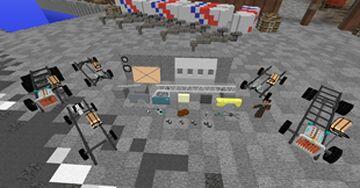 UNU Parts Pack Minecraft Mod