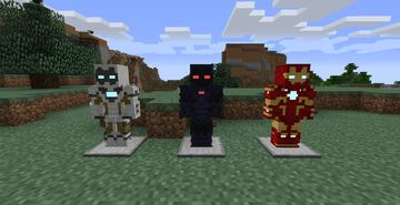 Iron Mania- Avengers Initiative Fiskheroes Pack Minecraft Mod