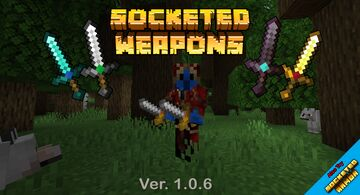 Socketed Weapons Minecraft Mod