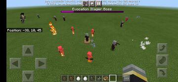 +Illusioner and Evoker(for bedrock) Minecraft Mod