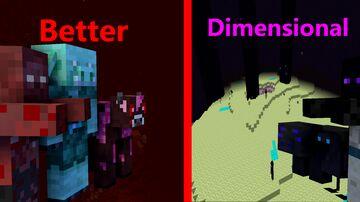 Better Dimensional Mod Minecraft Mod