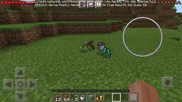 Lucky dirt drops op items mod/addon Minecraft Mod
