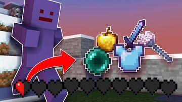 (PLUGIN)  Minecraft Manhunt, But Getting To Half A Heart Drops OP LOOT.. Minecraft Mod