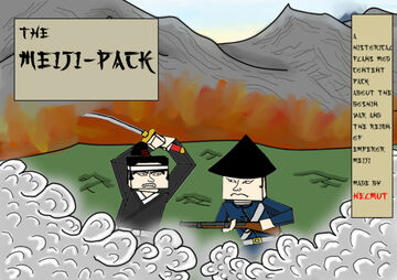 The Meiji Era Flans Content Pack Minecraft Mod