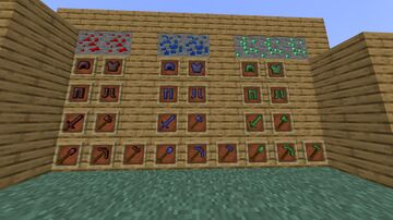 More Armors and Tools(Redstone,Lapis,Emeralds) Minecraft Mod