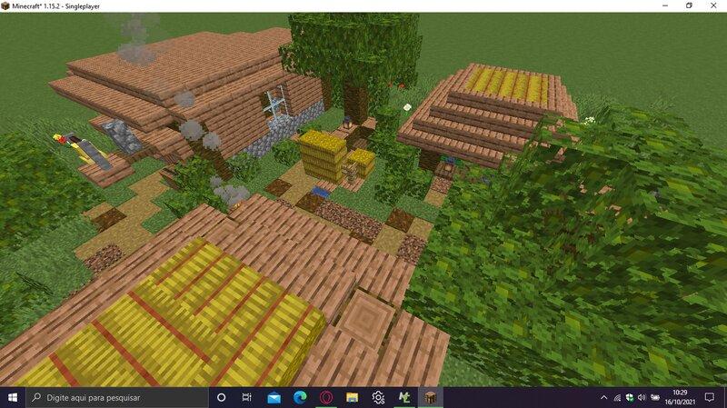 Jungle mini village