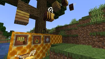 Bees! - Bees expansion! Minecraft Mod