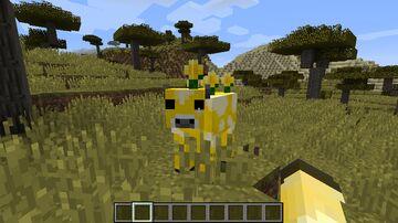Buttermilk: A Moobloom Mod Minecraft Mod