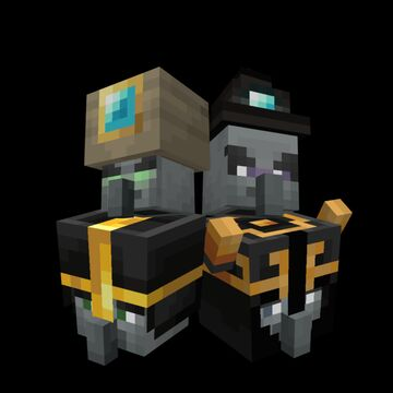 New Illagers And Villagers Update(For Bedrock) Minecraft Mod