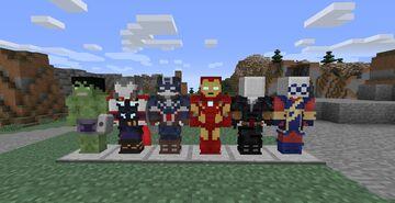Avengers Initiative Default Fiskheroes Pack Minecraft Mod