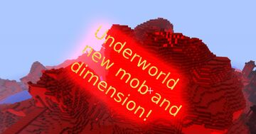 Minecraft but I added the underworld Minecraft Mod