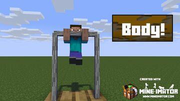 Body Building Mod Alpha Minecraft Mod