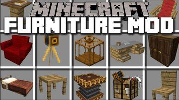 Furniture 1.16.5 Minecraft Mod