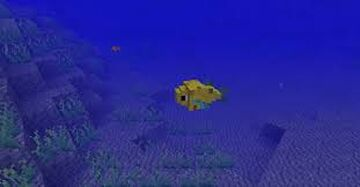 i just recreated fishes in minecraft Minecraft Mod