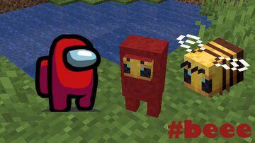 Beeemongus Bee + Among Us | Forge 1.15.2 Mod #beee Minecraft Mod