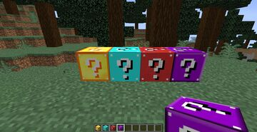 lucky blocks mod Minecraft Mod