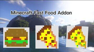 Fast Food Addon Minecraft Mod