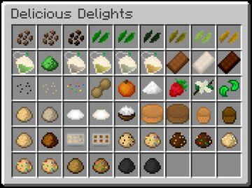 Delicious Delights Minecraft Mod