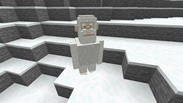 Yeti Mob for BIGFOOT SURVIVAL MAP Minecraft Mod
