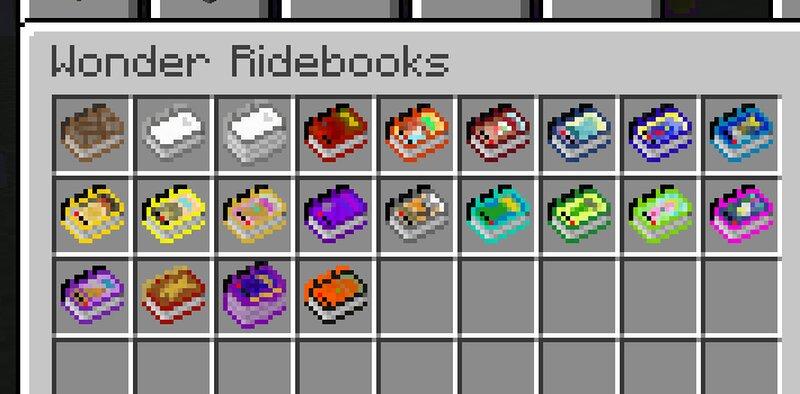 All Wonder Ridebooks so far!