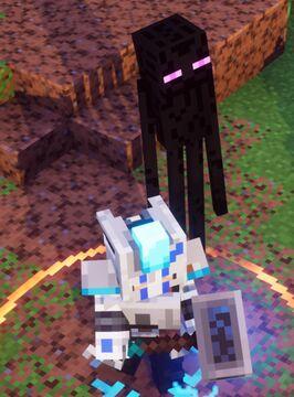 Minecraft Dungeons Enderman Pet Mod! Minecraft Mod