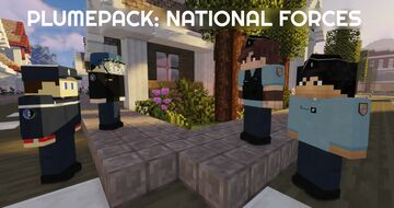 PlumePack: French National Forces! Minecraft Mod