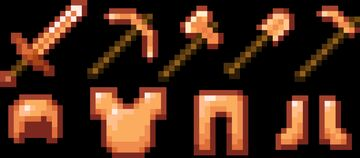 Hardened Gold tools and armour [Forge] Minecraft Mod