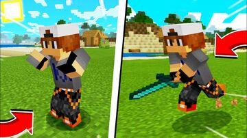 NEW PLAYER ANIMATION MOD Minecraft Mod