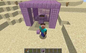 The purple land Minecraft Mod