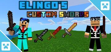 Elingo's Custom Swords Add-on (Bedrock Edition) Minecraft Mod