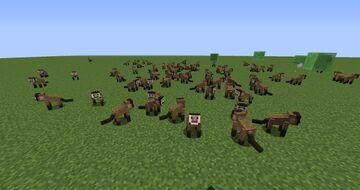 Capuchin Monkeys Mod 1.12.2! Minecraft Mod