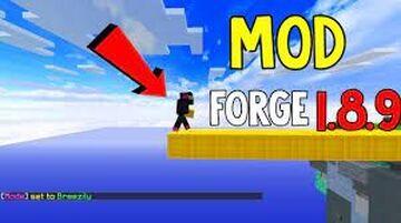 Speed Bridge 1.8.9 Minecraft Mod