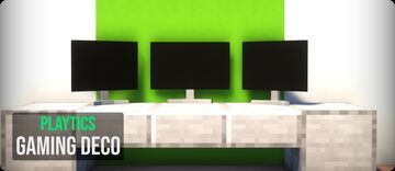 PlayTics Gaming Deco Mod 1.15/ 1.16 Minecraft Mod
